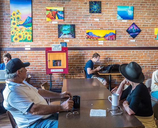 Coffee shop art, Old Town Eureka
