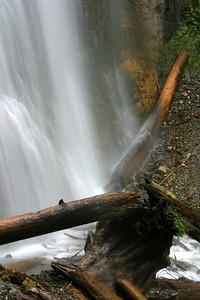 Taken at the base of Bridal Falls. The falls were running heavier than normal due to heavy rainfall during the month of June.