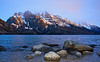 Sunrise Jenny Lake Tetons National Park