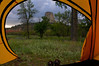 Devil's Tower from the tent.