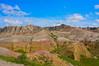 Badlands in color.