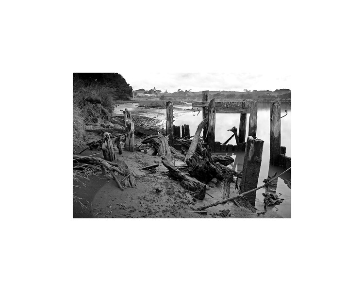Old Wharf on the Patea River