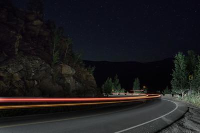 Squaw Pass at Night
