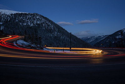 Hairpin on Berthoud Pass