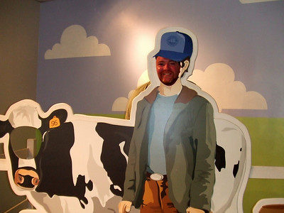 Tilamock cheese factory.  He'd make a great dairy farmer don't  you think?