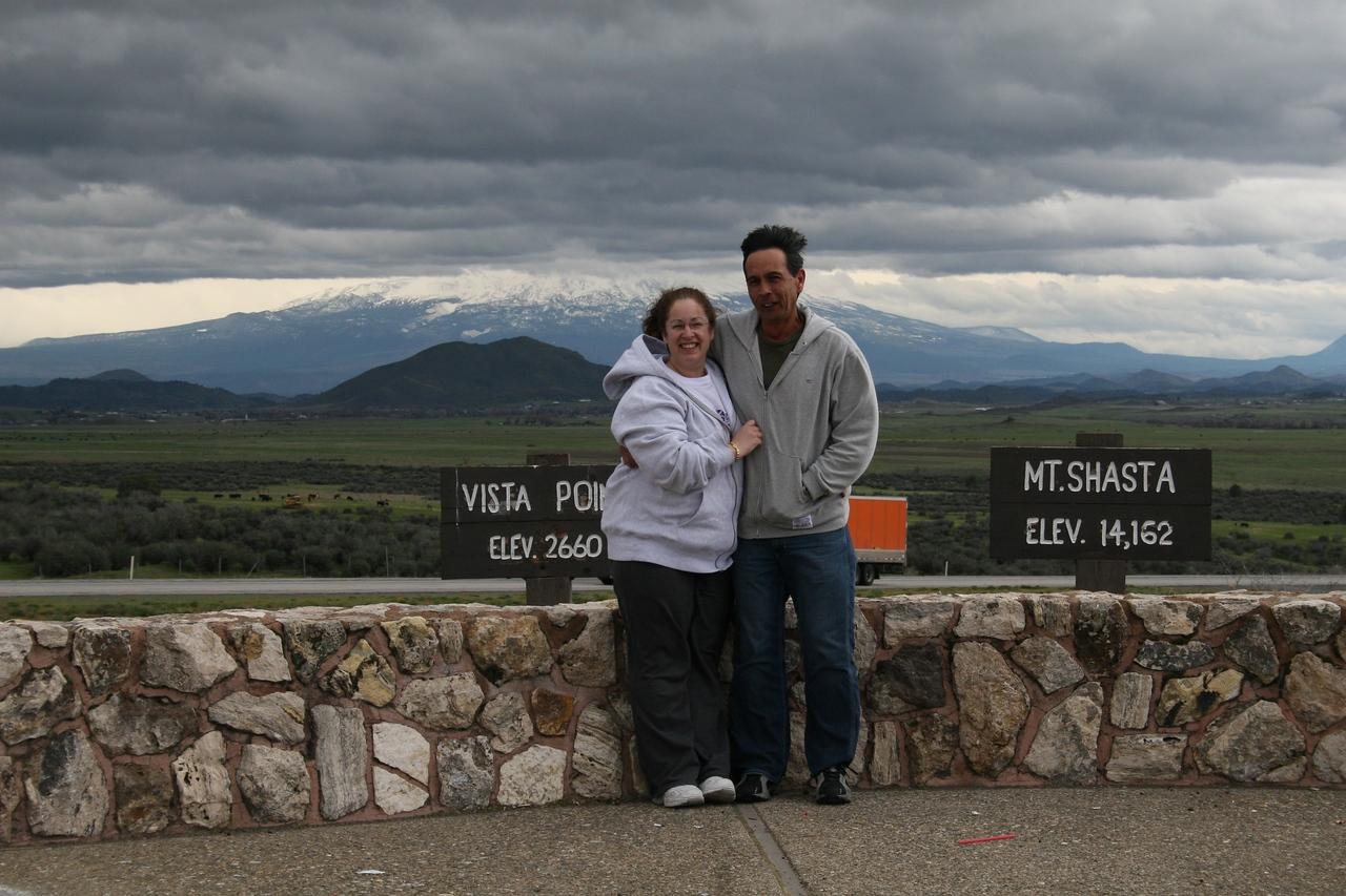 Mt Shasta viewpoint.