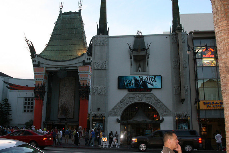 Grauman's Chinese Theater<br /> Hollywood, CA