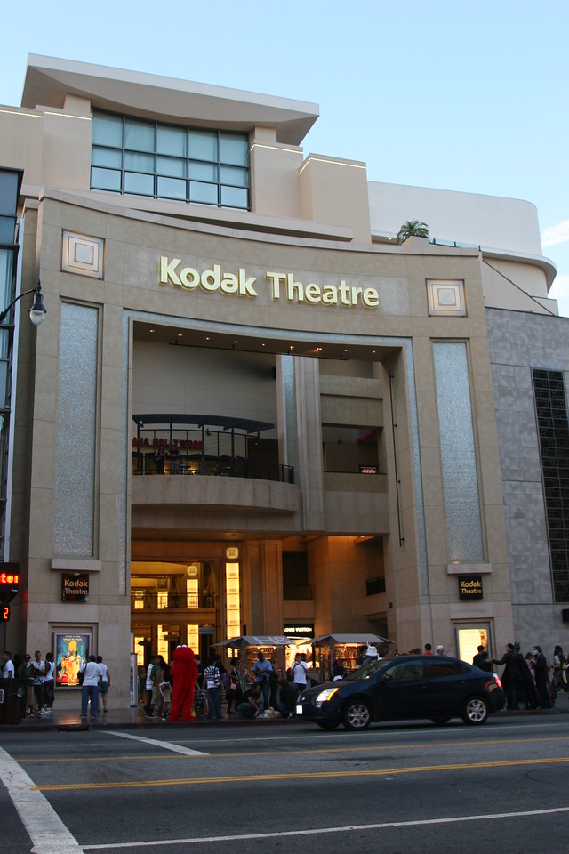 Kodak Theatre<br /> Hollywood Blvd<br /> Hollywood, CA