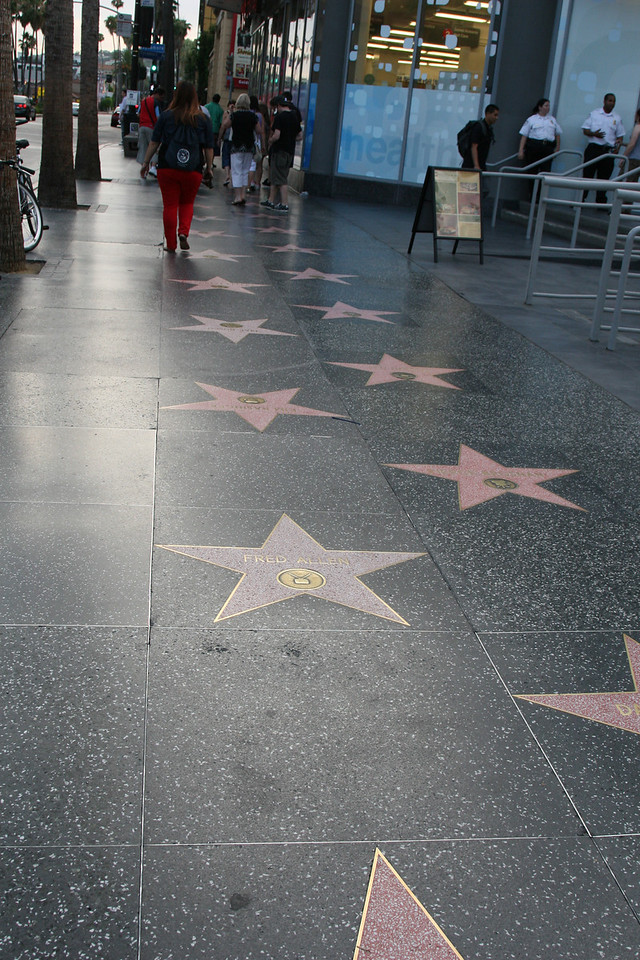 Walk of Fame<br /> Hollywood, CA