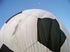 Soccer ball balloon and a half moon.