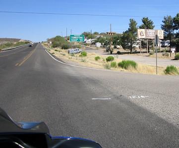 Entering Tombstone, AZ
