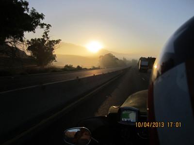Sunrise on the I-60