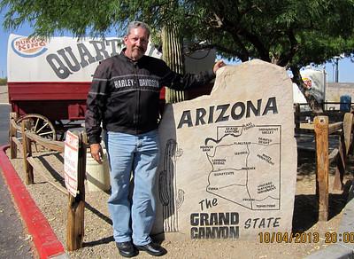 We made it to Arizona