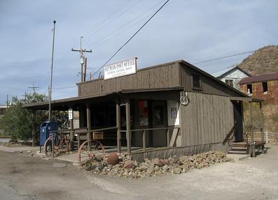 The Oatman Post Office