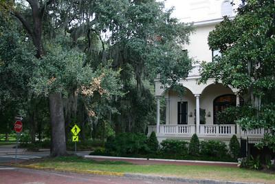Savannah Home - This is a typical house in Savannah.