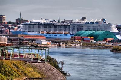 Viking Cruise Ship, , Saint John, New Brunswick