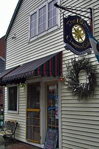 Brass Compass Cafe, Rockland, Maine