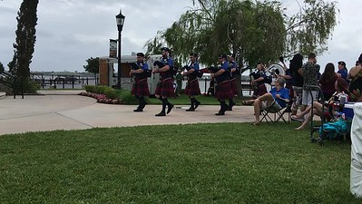 Video on Rosie O'Grady's Pipe Band