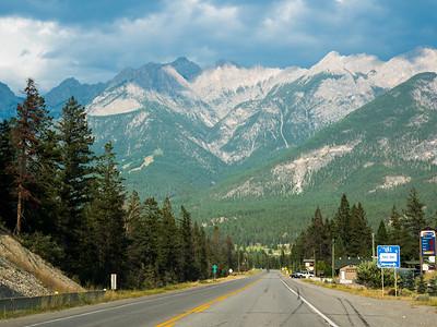 Glacier National Park, Montana to Radium Hot Springs, Canada