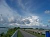 Beautiful clouds back towards Miami.