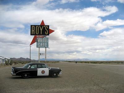 Roy's Diner in Amboy, CA