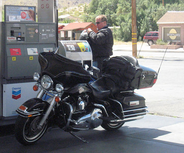 Slow Dave fueling up