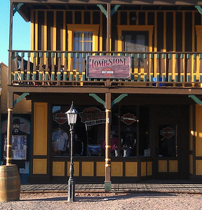 New Harley Davidson shop in Tombstone, AZ