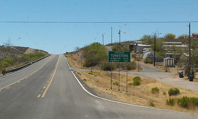 Entering Tombstone, AZ