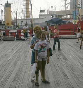 20/Lindsey & Fran at Pier 17