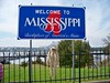 Hanging out at the Mississippi border.