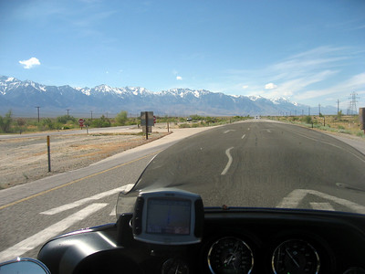 Highway 395 northbound