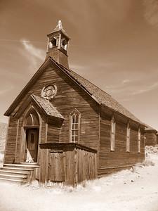 Bodie. The church