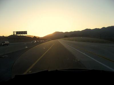 Day One  Sunrise on the I-14