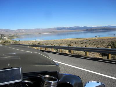 Approaching Mono Lake