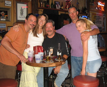 Tim, Cat, Bill, Jim, Tanya in Rustys