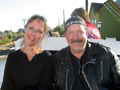 Darlene & Bill in Virginia City, NV