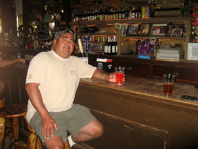 Steve in the oldest bar in Nevada.