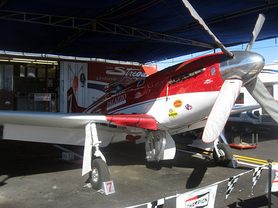 """Streaga"", last year's winner, also won this year by default since the Unlimited Gold race was canceled on Sunday and Streaga won the gold on Saturday."