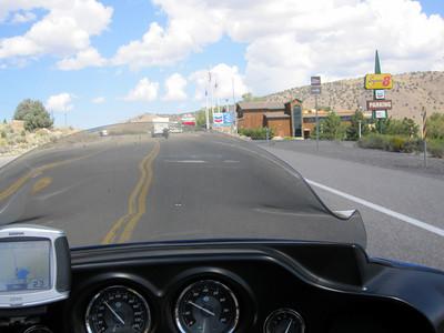 Approaching Topaz Lake Casino