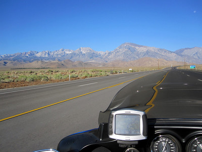 Heading North on the 395 bound for Reno.