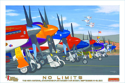 2011 Reno Air Races official poster
