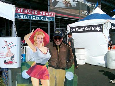 Having fun at the Reno Air Races!