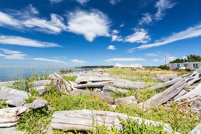 Lighthouse Park. Point Roberts, WA, USA