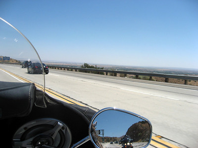 On the 14 approaching Palmdale.