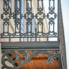 Balcony detail at 301 W. York St. home of Zipperer Lorberbaum & Beauvaismore