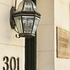 lamp detail at 301 W. York St. home of Zipperer Lorberbaum & Beauvaismore