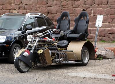 Interesting trike in Jerome, AZ