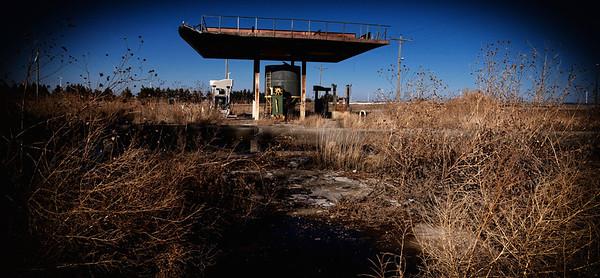 Random Abandon Gas Station