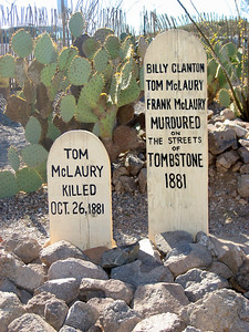 Boot Hill Cemetery, Tombstone, AZ
