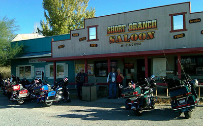 Miss Kathy's Short Branch Saloon in Crystal, NV. Our ultimate destination. Man was this place fun!